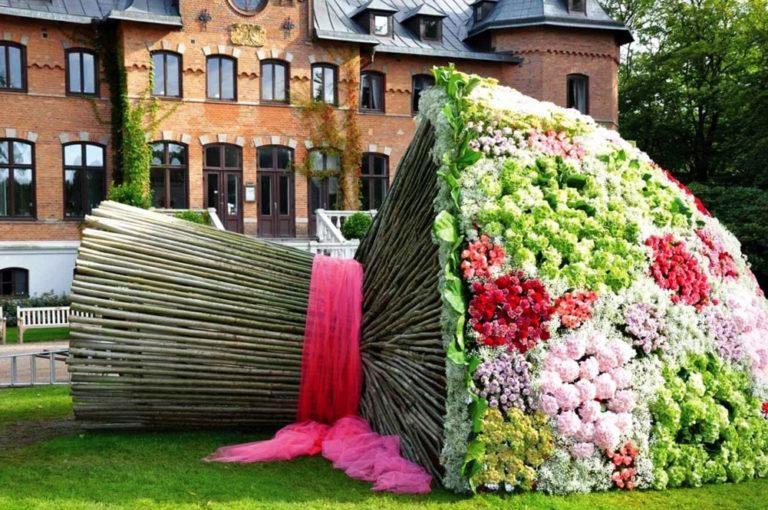 Самое интересное о цветочных композициях